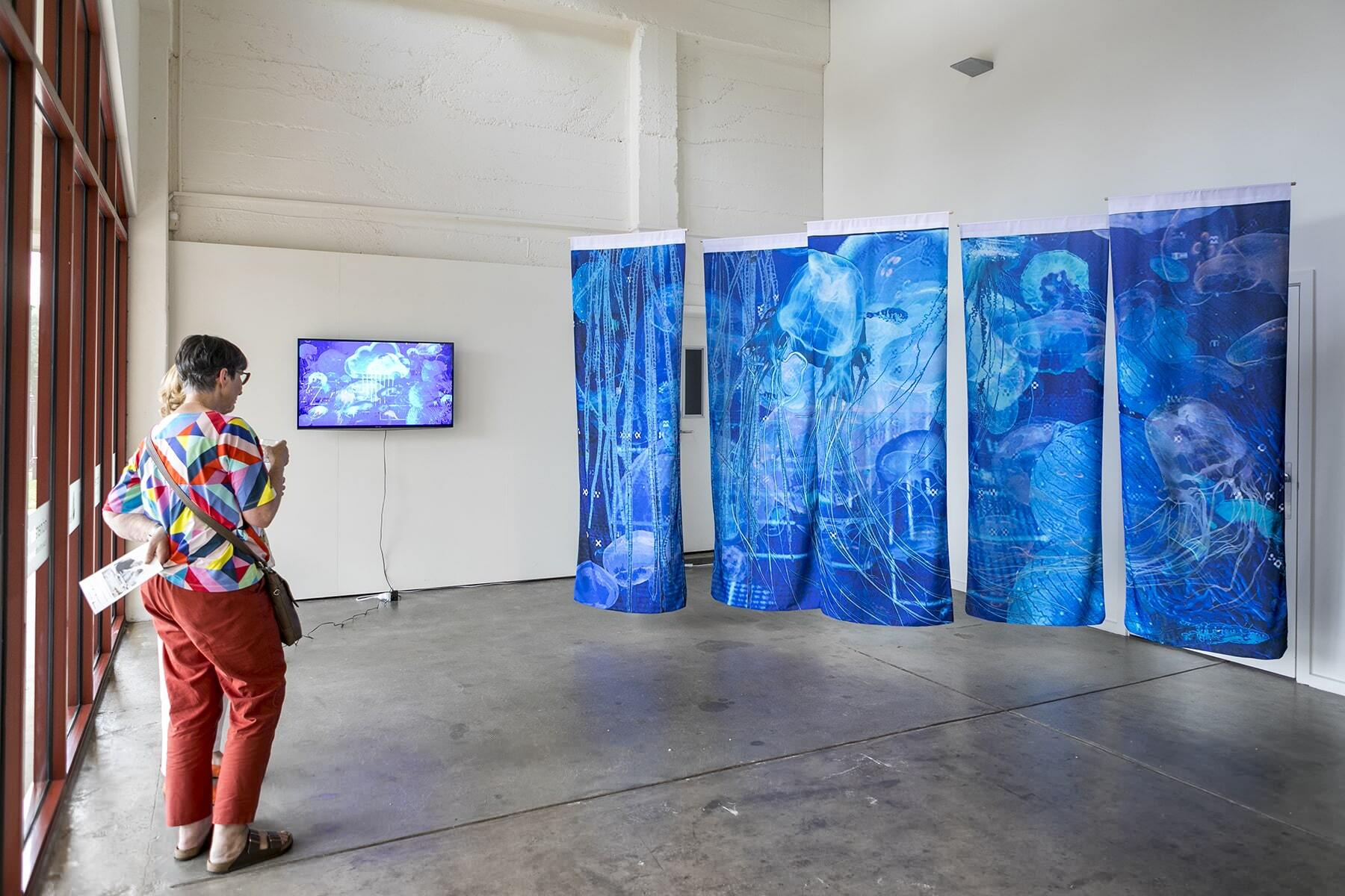 Installation view of SWARM at Incinerator Gallery, Melbourne